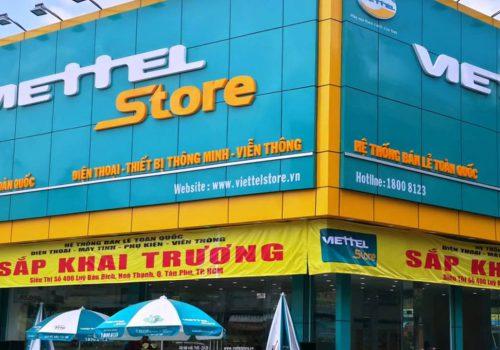 FRONT PLATE supermarkets VIETTEL