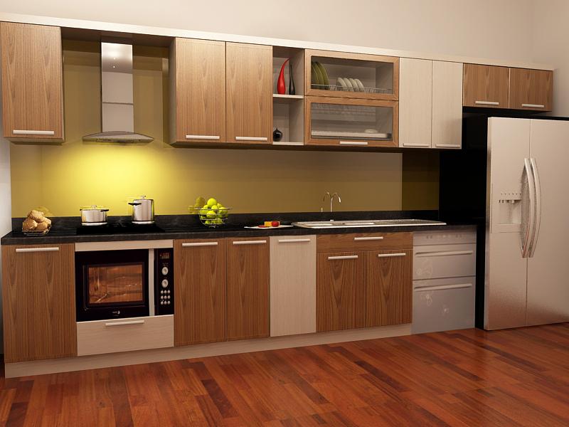 Cách bảo quản tủ bếp gỗ