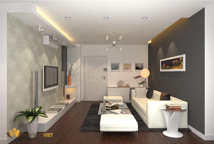 Thiết kế nội thất nhà nhỏ sang trọng