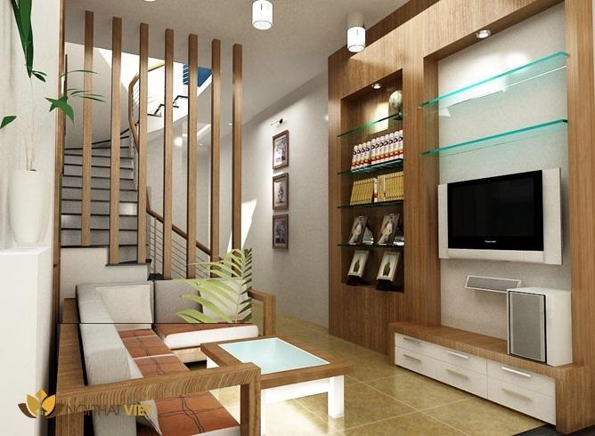 Mẫu thiết kế nội thất nhà diện tích nhỏ đẹp