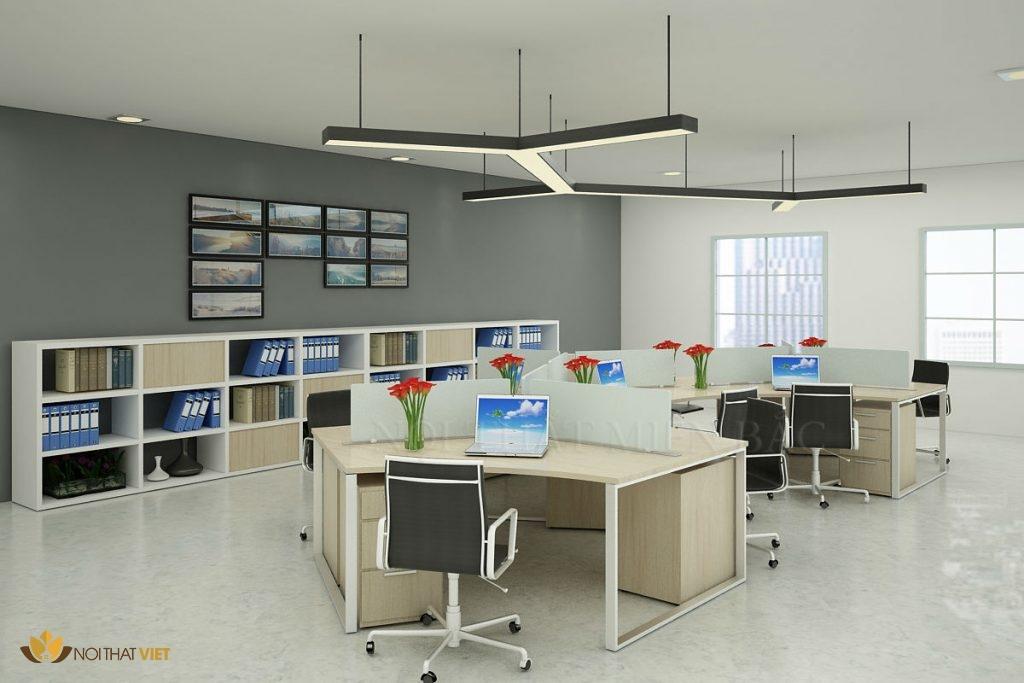 Thi công và thiết kế nội thất văn phòng đẹp