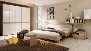 nội thất phòng ngủ đẹp thanh lịch hiện đại