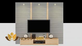 Mẫu kệ tivi hiện đại cho phòng ngủ