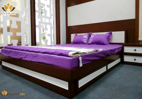 giường hộp cao cấp GH01