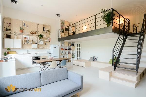 thiết kế gác lững phù hợp với chung cư