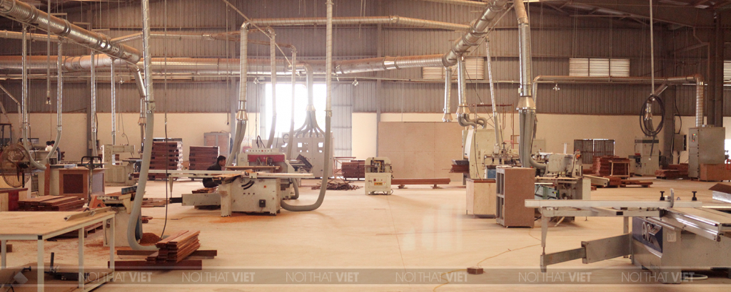 Xưởng sản xuất nội thất theo thiết kế