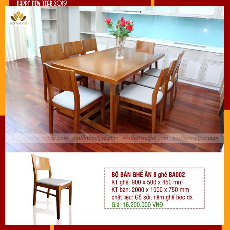 Bàn ghế ăn tại Thanh Hoá
