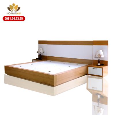 giường ngủ veneer sồi cao cấp