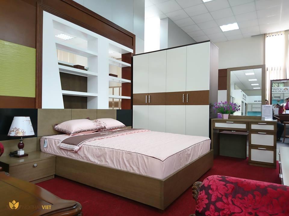 Bộ phòng ngủ gỗ công nghiệp cao cấp 002