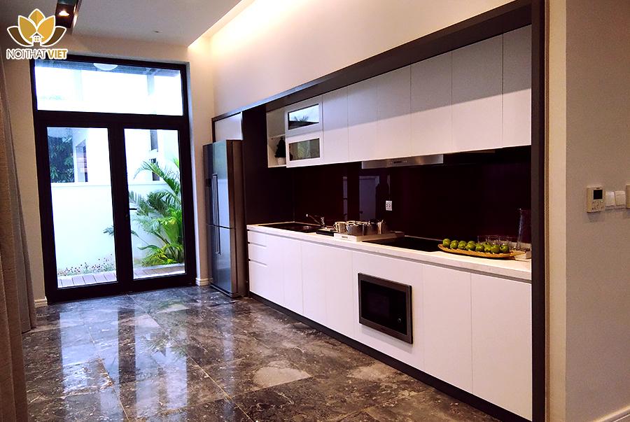 Hệ tủ bếp hiện đại, công năng tối ưu