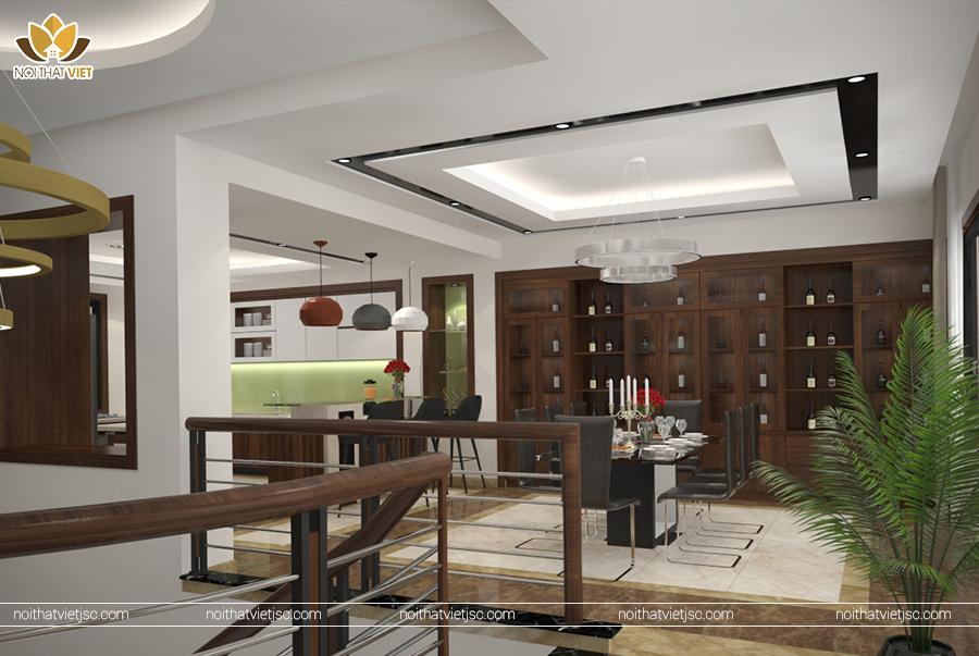 Thiết kế nội thất gia đình đẹp