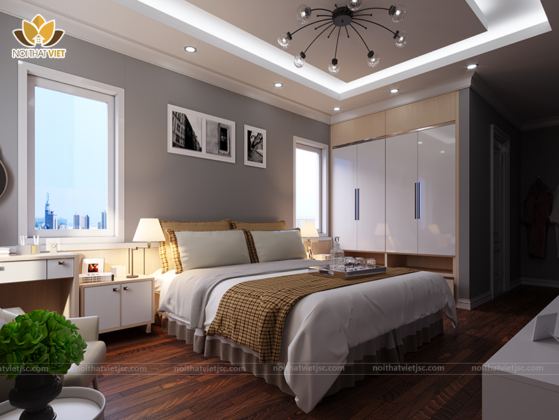 Phòng ngủ tối ưu công năng