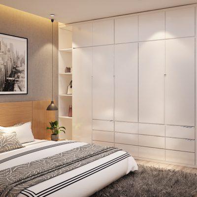 Nội thất phòng ngủ gỗ công nghiệp cao cấp