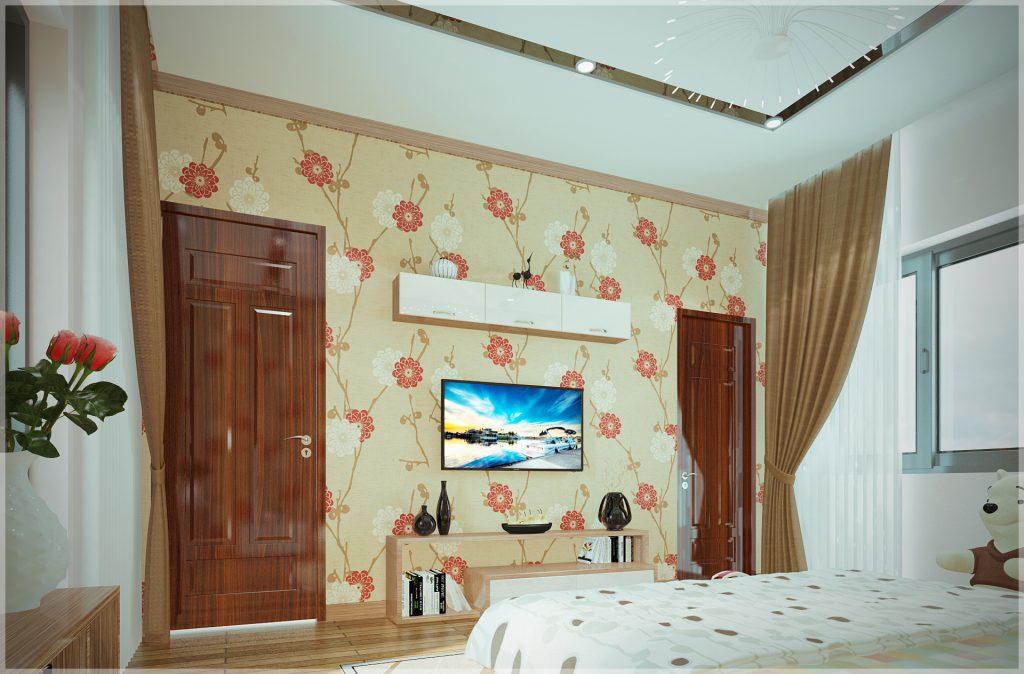 Trang trí tường cho phòng ngủ