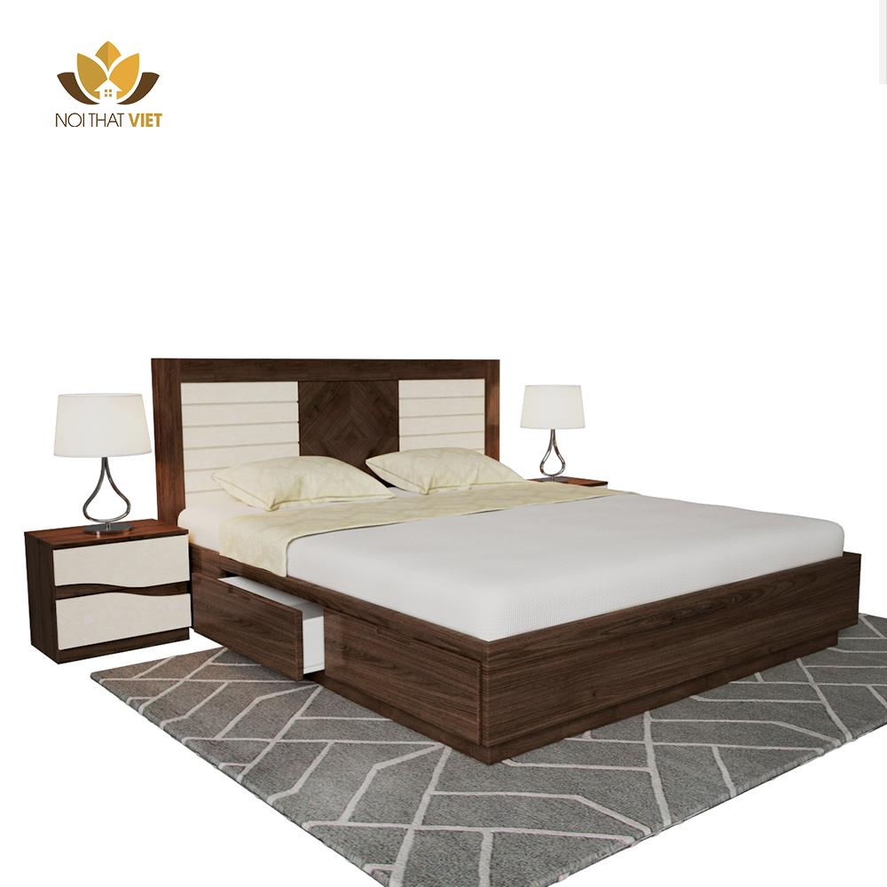giường ngủ phù hợp với không gian