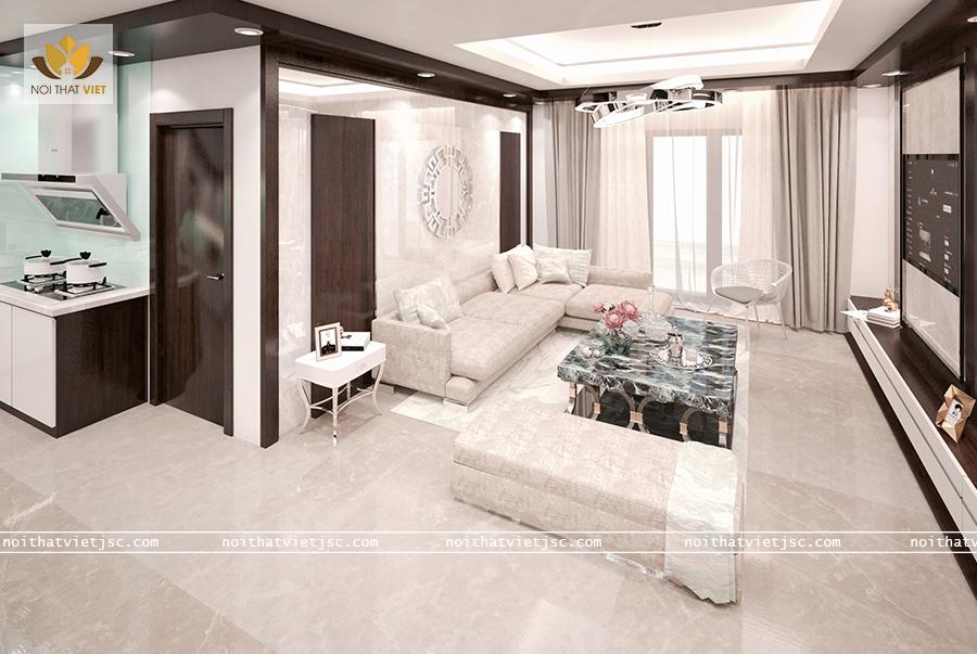Thiết kế nội thất phong cách Scandinavia