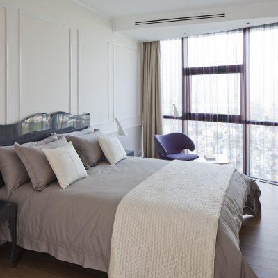 phòng ngủ với thiết kế hiện đại