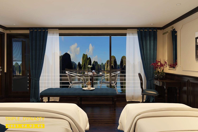 Nội Thất khách sạn của tàuDynasty Of The Seas