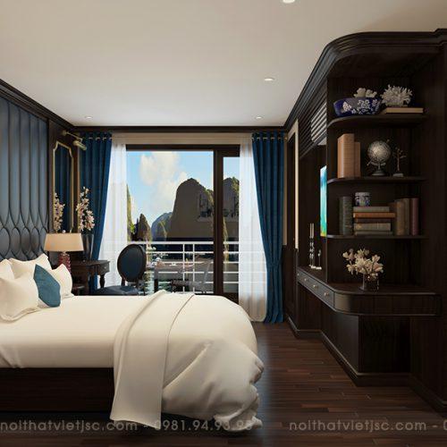 bố trí nội thất khách sạn