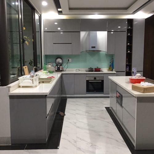 Cải tạo căn bếp lỗi thời thành thiết kế không gian được định giá 200 triệu