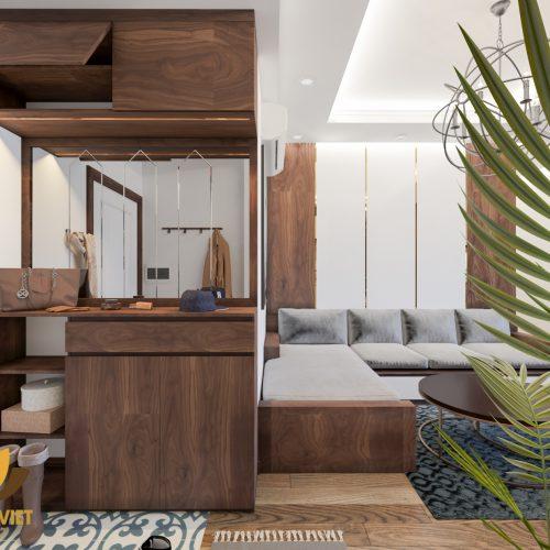 đưa thiên nhiên vào thiết kế căn hộ