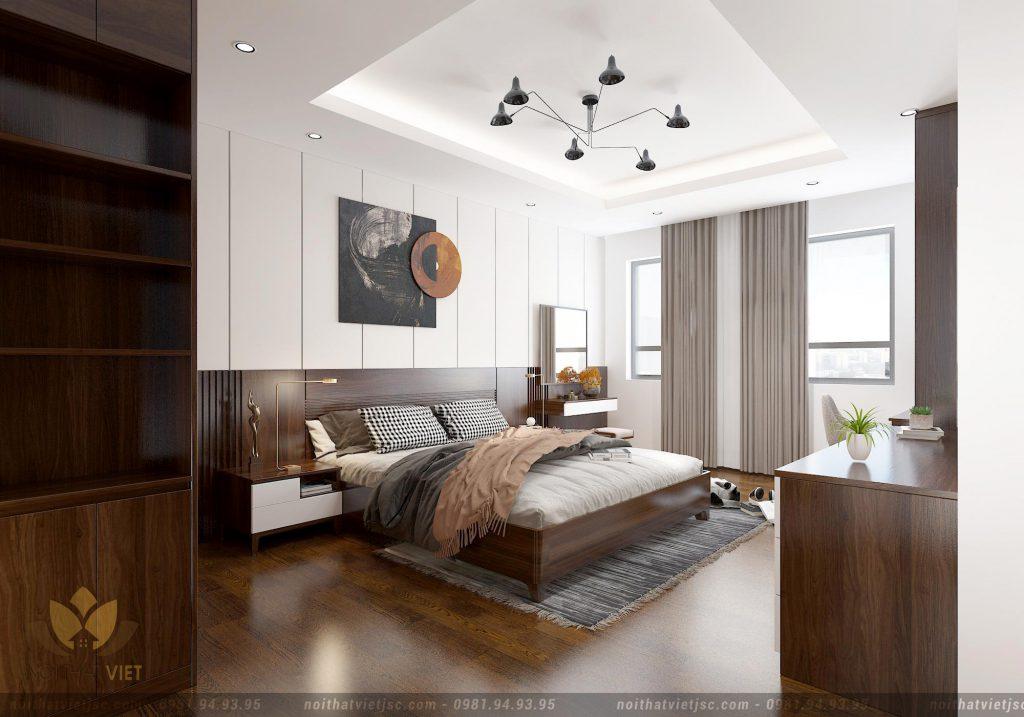 nội thất phòng ngủ ấm cúng