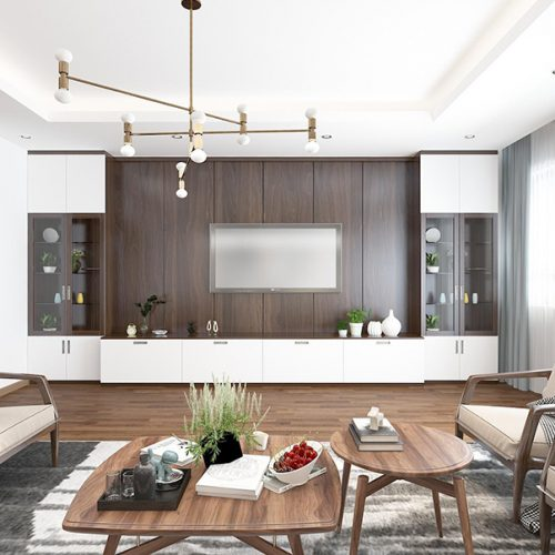 Thiết kế nội thất chung cư cao cấp - Xu hướng sống của thời đại