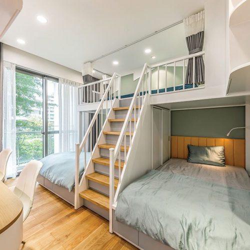 Thiết kế nội thất phòng ngủ cho bé hiện đại