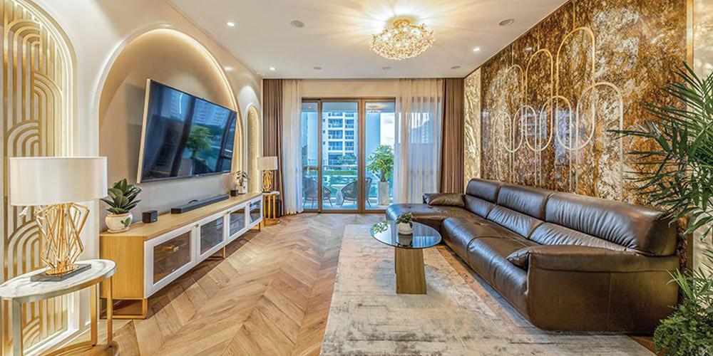thiết kế nội thất căn hộ gia đình