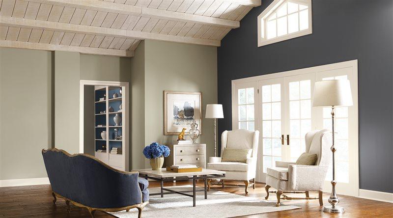 Màu sơn trong thiết kế nội thất